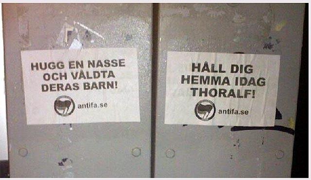 """""""Håll dig hemma Thoralf"""""""