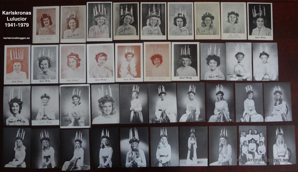 Alla Karlskronas Lucior 1941-1979