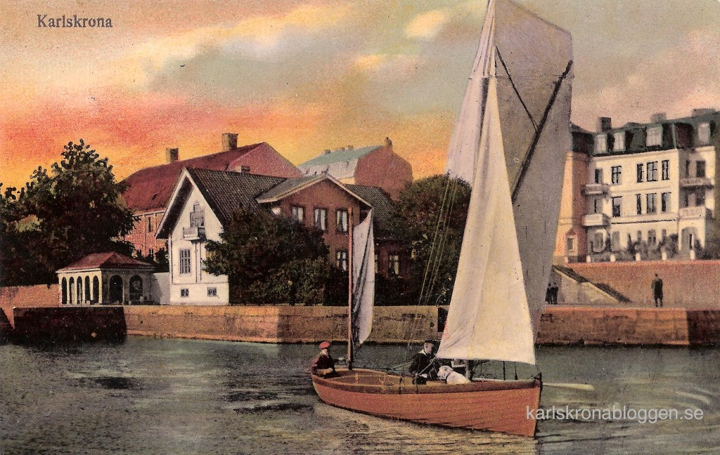 Kungsbron cirka 1910 utgivet av Grapes Konstförlag