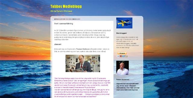 Tobbes årskrönika för 2013
