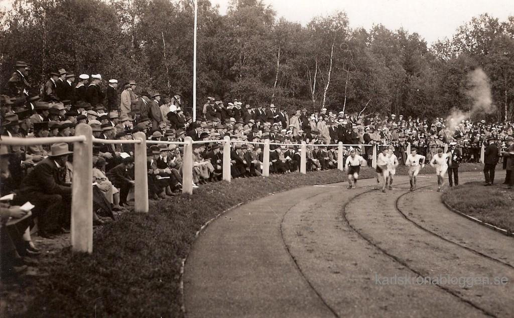 Invigning av Karlskrona Idrottsplats 1925
