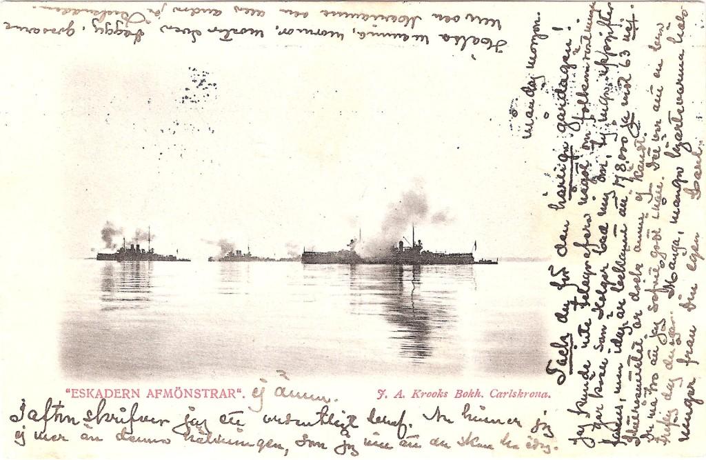 Eskadern avmönstrar 1903