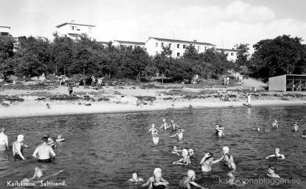 Saltösand på 1950-talet