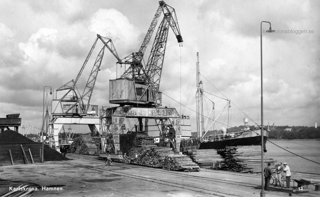Hamnen på 1950-talet