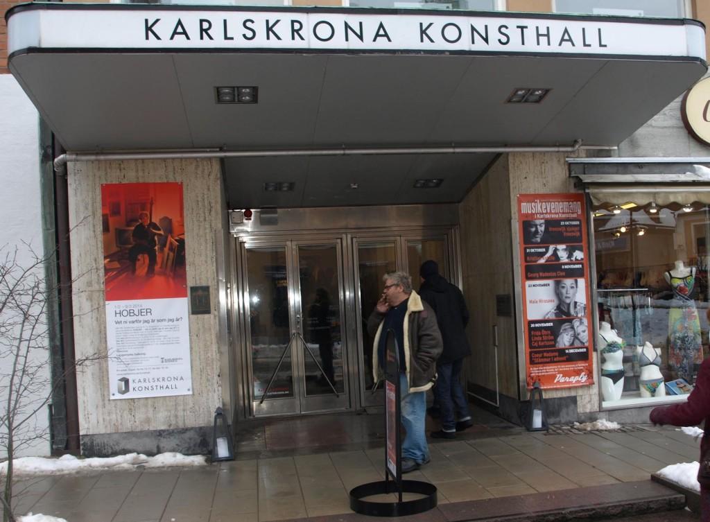Utställning och film om Kjell Hobjer i Karlskrona Konsthall
