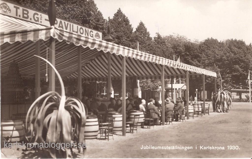 Tyska Bryggaregården på Karlskronautställningen 1930