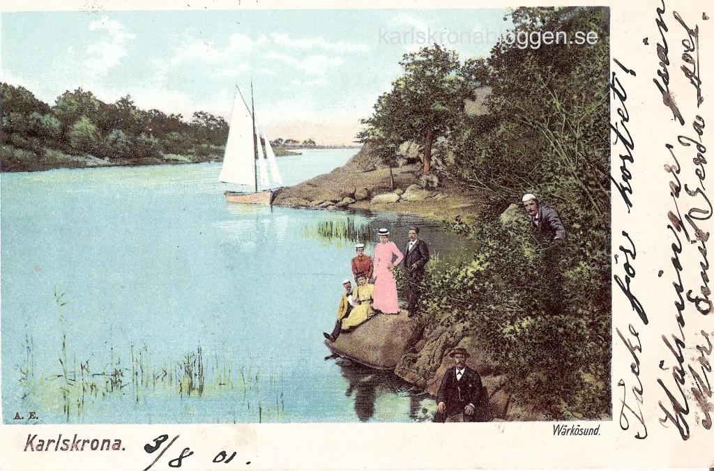 Wärkösund år 1901