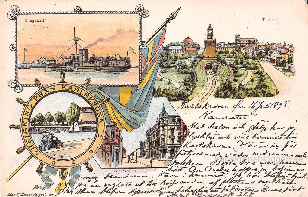 Gruss Aus Karlskrona 1898