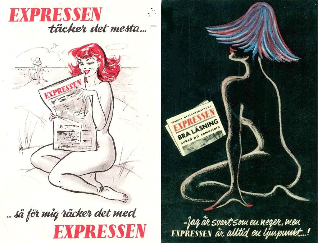 Reklam för Expressen