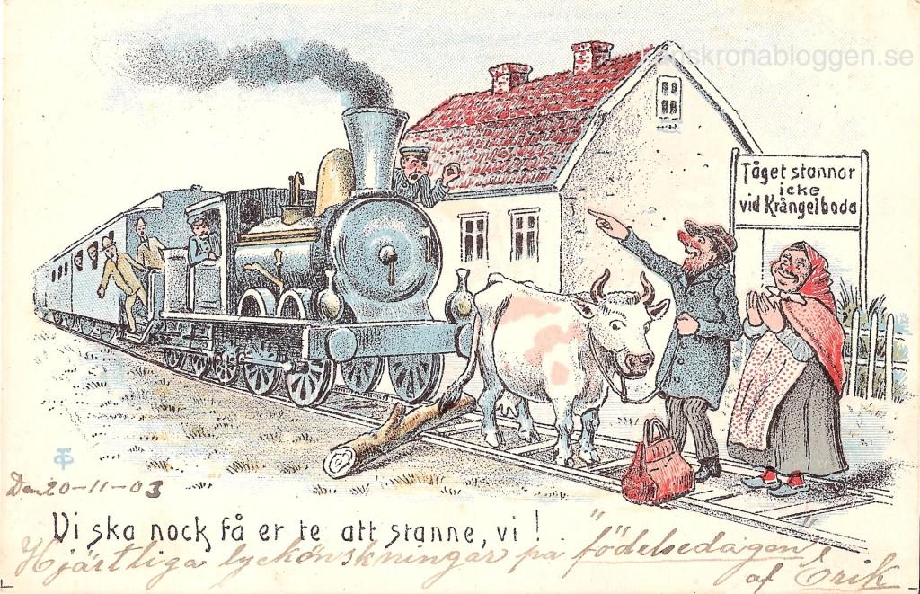 Tåg till Krångelboda