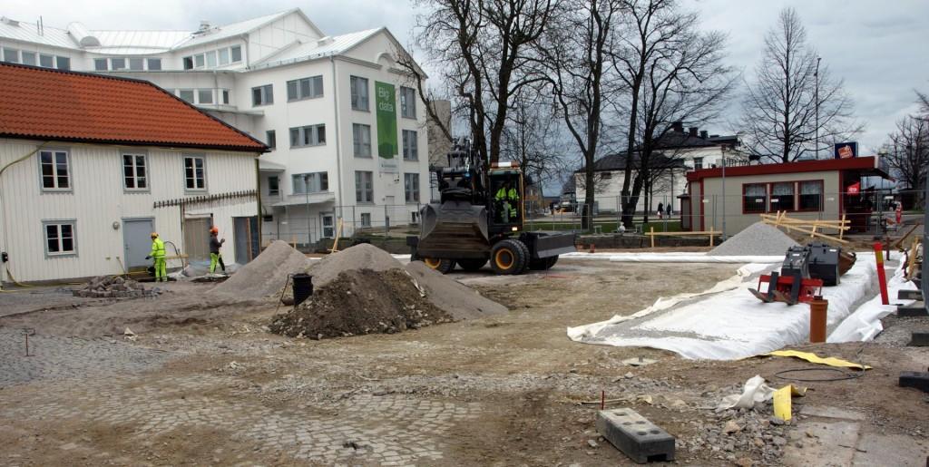 Ny byggnad på gång...