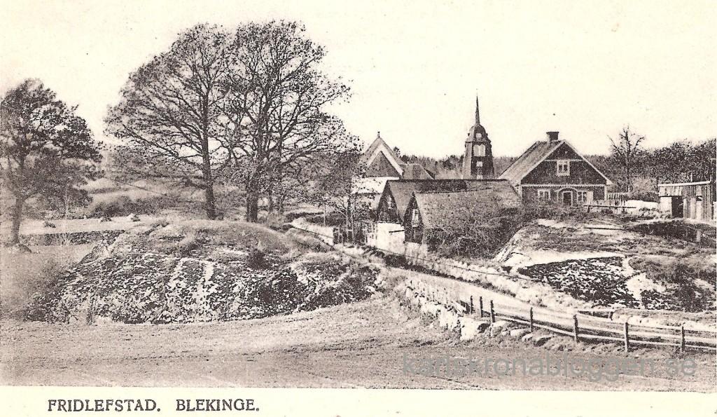 Fridlevstad kring år 1900