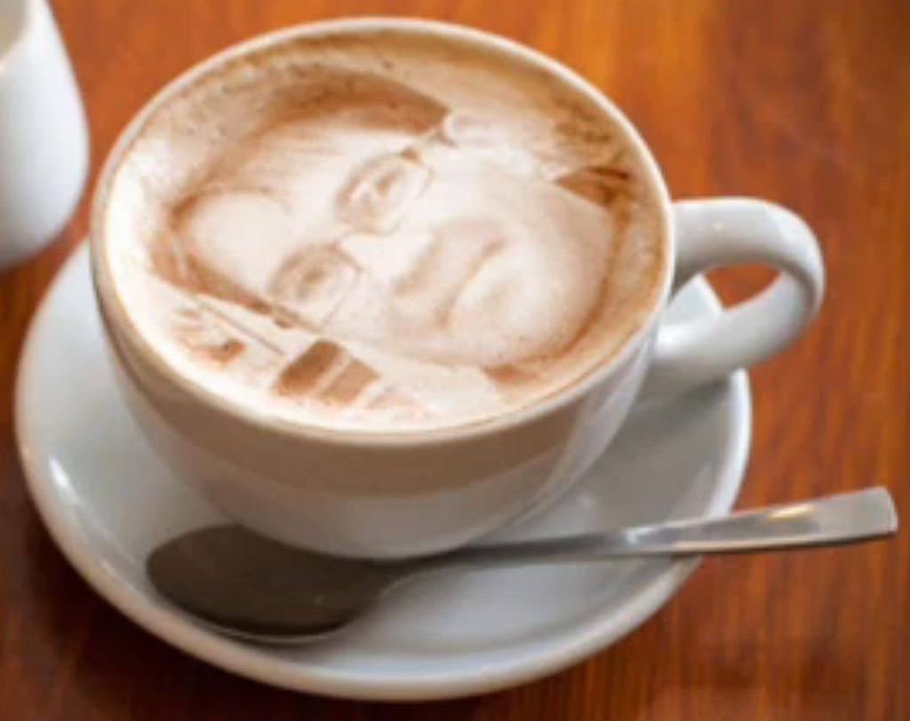 Jimmie Åkesson cappuccino