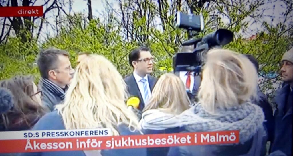 Jimmie Åkesson i Malmö