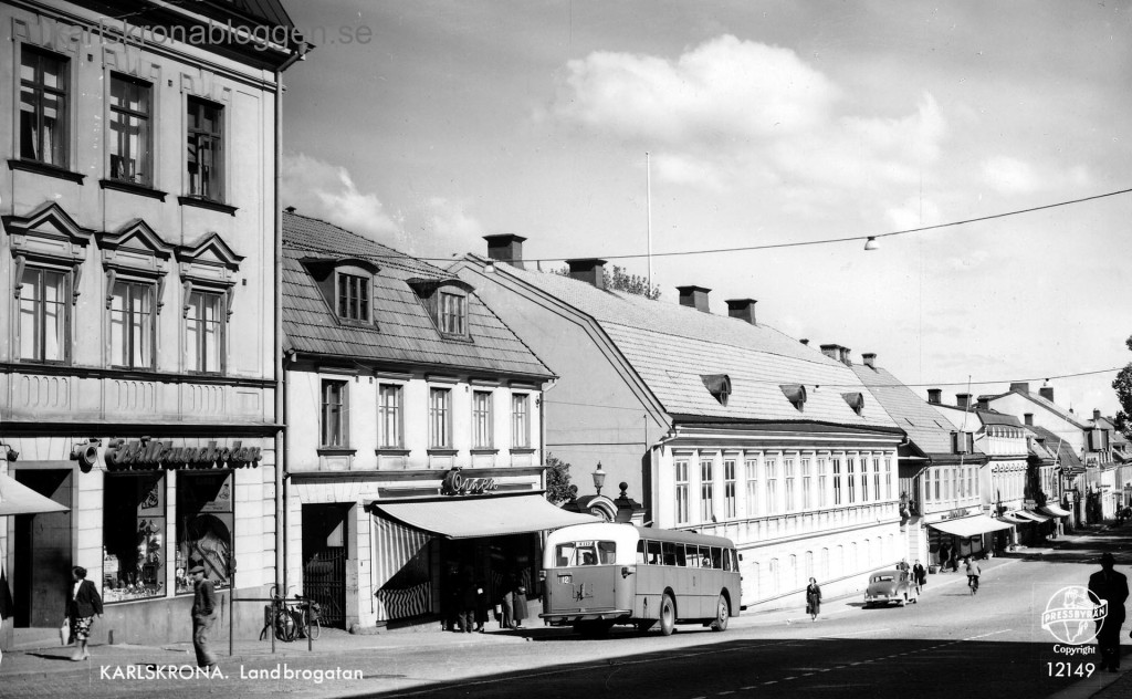 Landbrogatan på 1950-talet