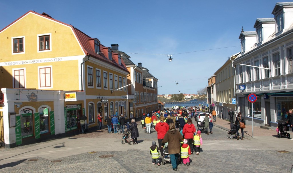Många pirater på Karlskronas gator