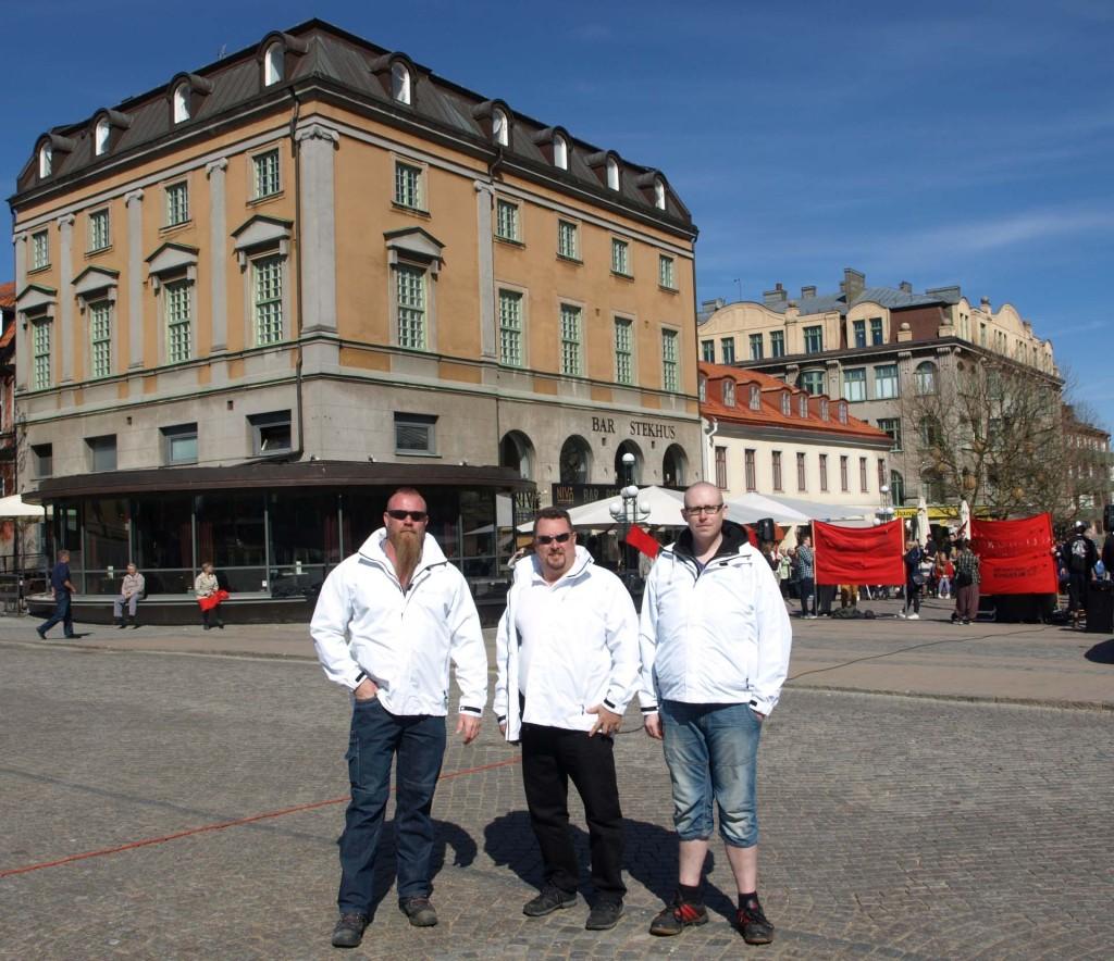 """Tre killar """"På Törget"""""""
