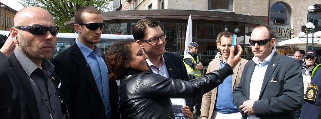 """""""Selfies"""" med Jimmie Åkesson"""