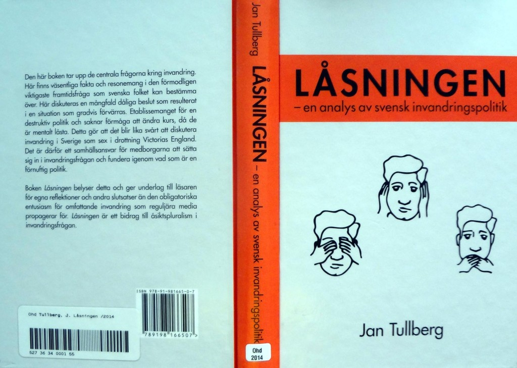 "Min recension av ""Låsningen"" av Jan Tullberg"
