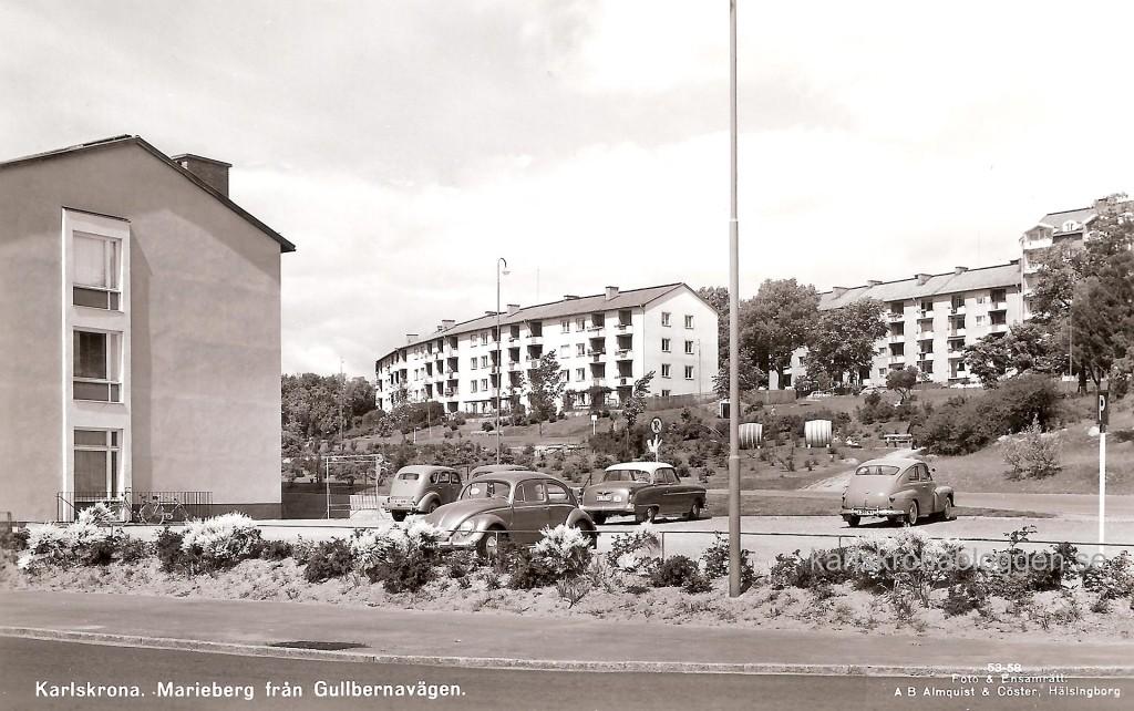 Marieberg från Gullbernavägen 1958