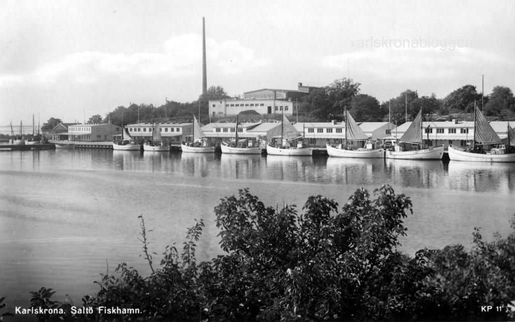 Saltö Fiskhamn 1950