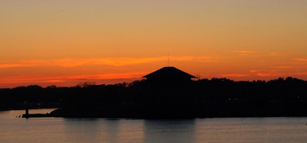 Solnedgång med Ljungskär