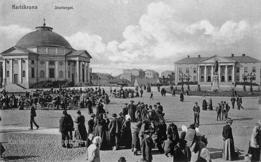 Stortorget cirka 1905