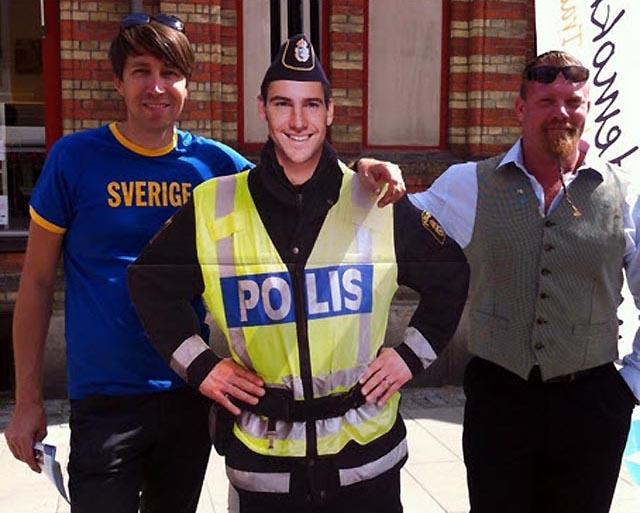 "SD-polisen ""Tryggve"" polisanmäld"
