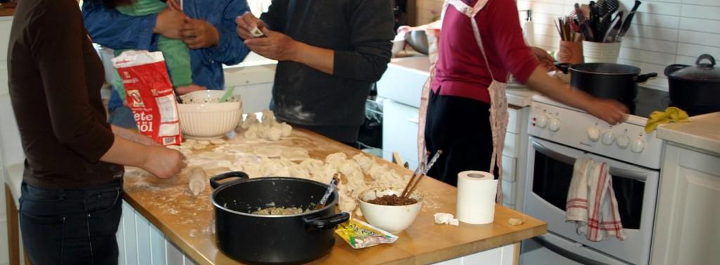 Kinesisk-Svenska dumplings