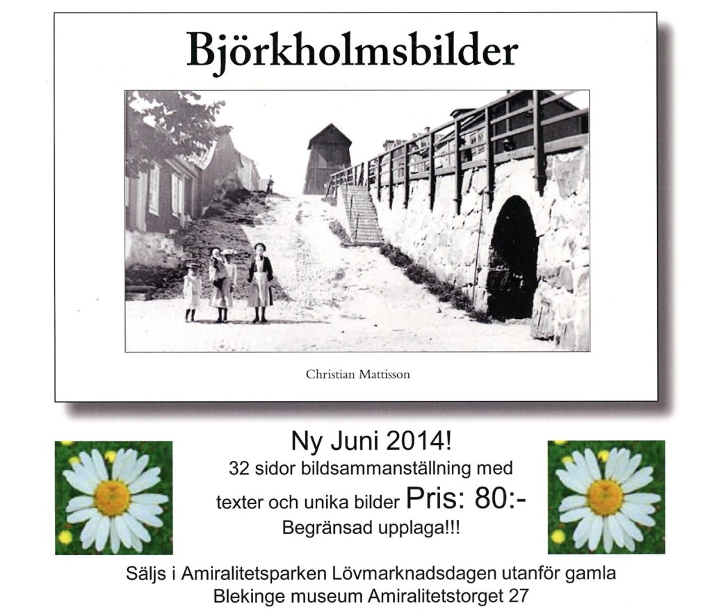 Björkholmsbilder på gång...