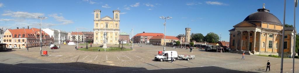 Dagen före Lövmarknaden på Stortorget