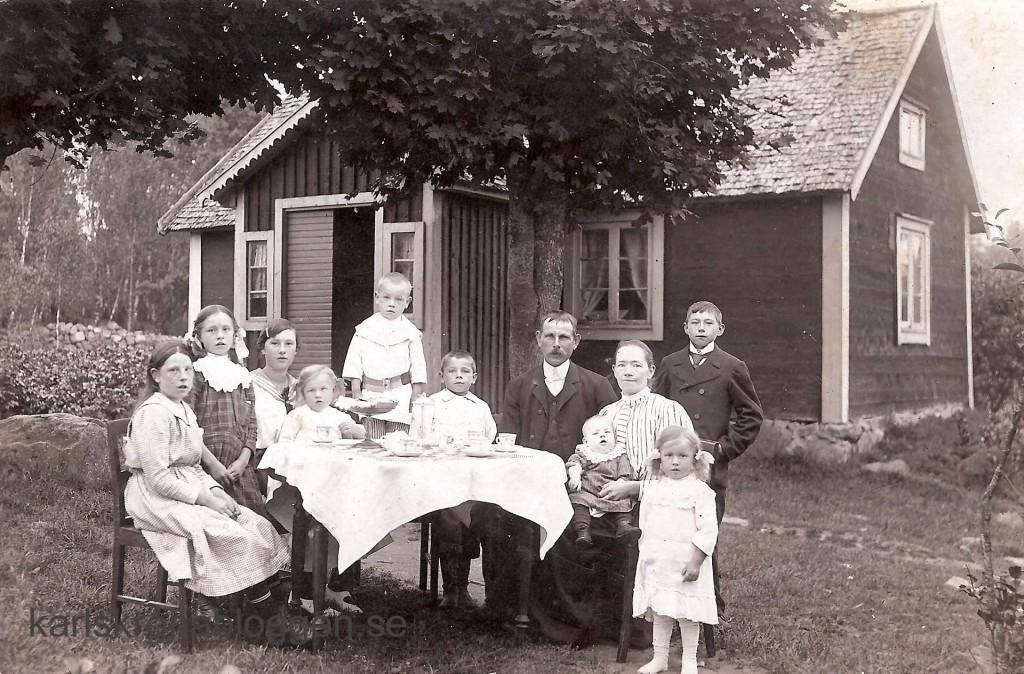 Familjen Bäckström i Sillhövda