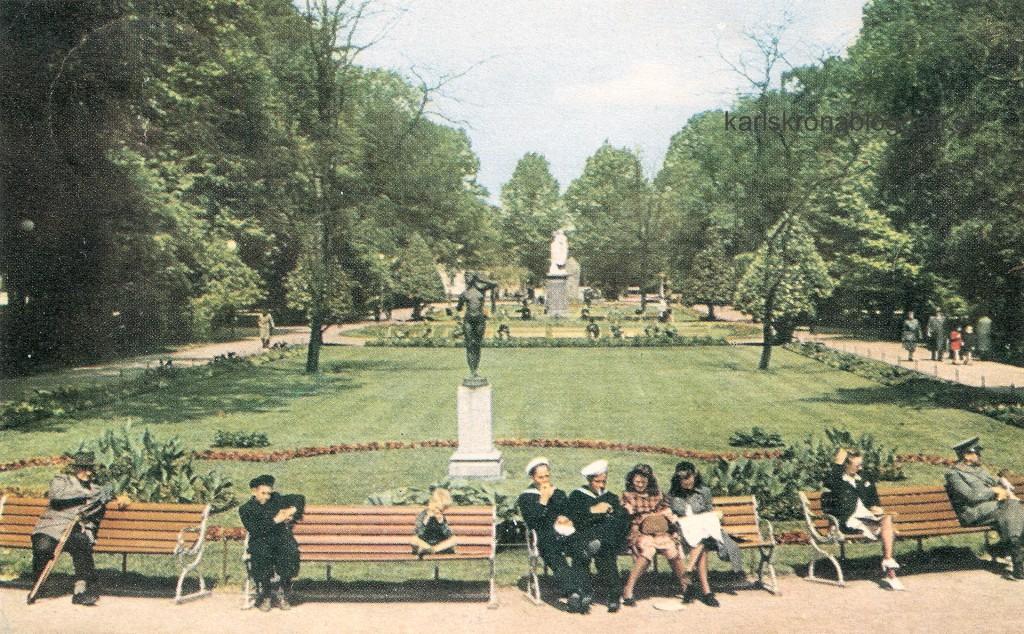 Hoglands park cirka 1950