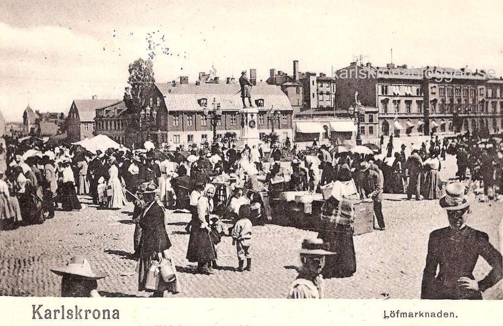 Från Lövmarknaden 1902