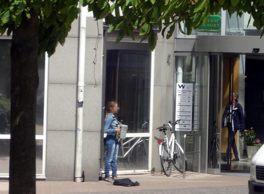 Ny outfit på tiggarna i Karlskrona?