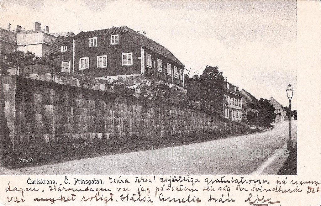 Östra Prinsgatan och Hästkvarnsgatan