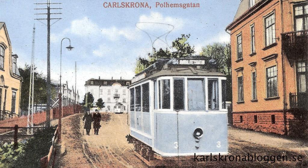 Spårvagn på Polhemsgatan