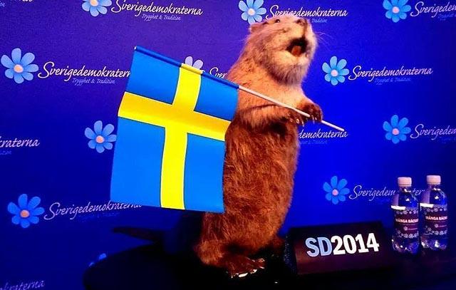 Bävern firade Nationaldagen