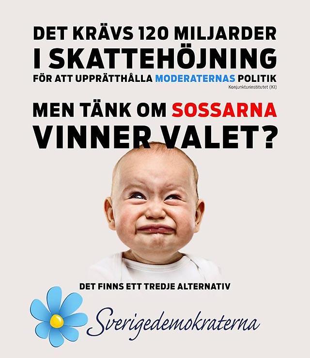 Sverigedemokraterna är det tredje alternativet