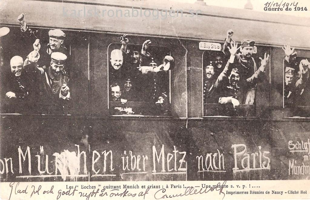 100 år sedan WW1