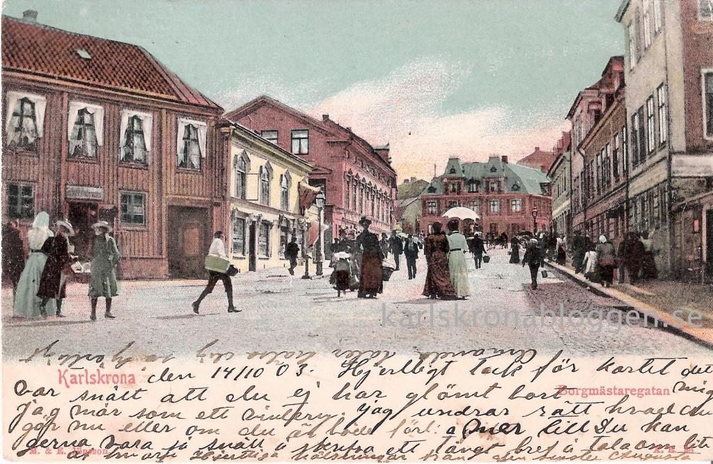 Borgmästaregatan 1903