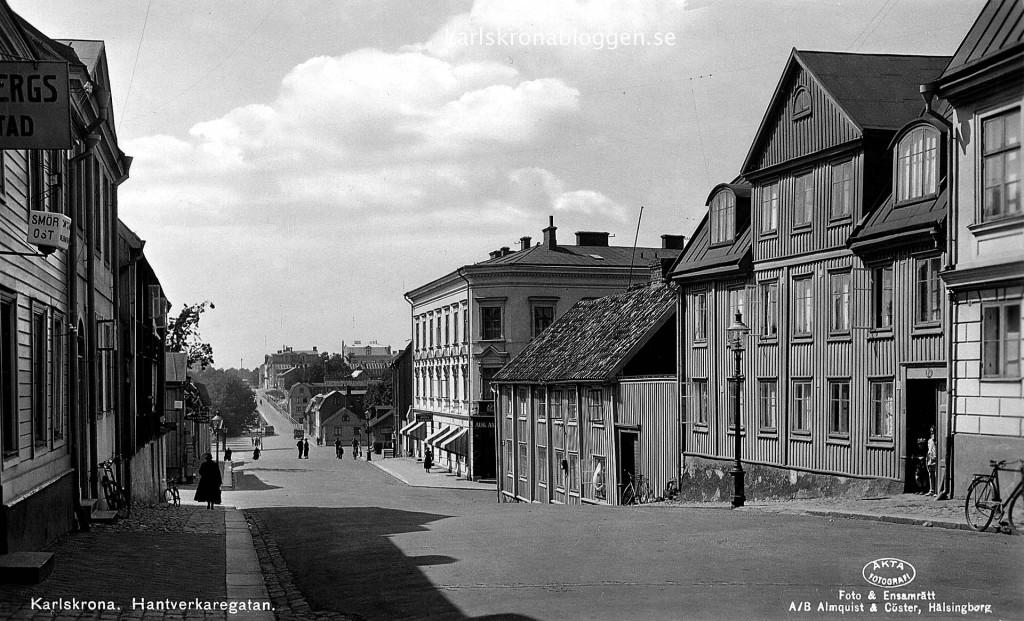 Hantverkaregatan 1940