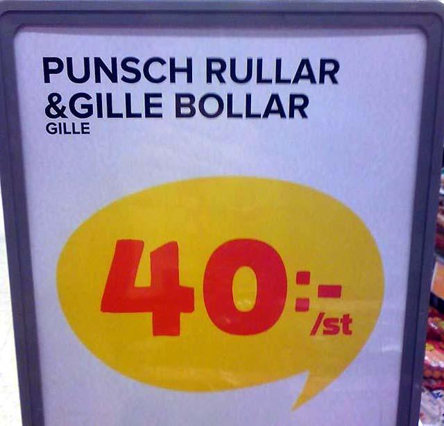 """""""Punsch"""" och """"Gille"""" rullar och bollar"""