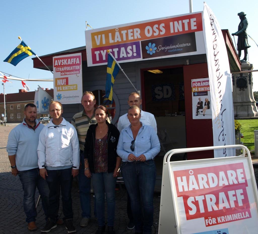 (SD) är aktiva i Karlskrona