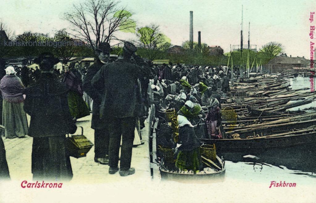 Härligt vykort från Fiskbron