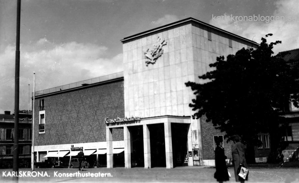 Konserthusteatern invigdes 1939