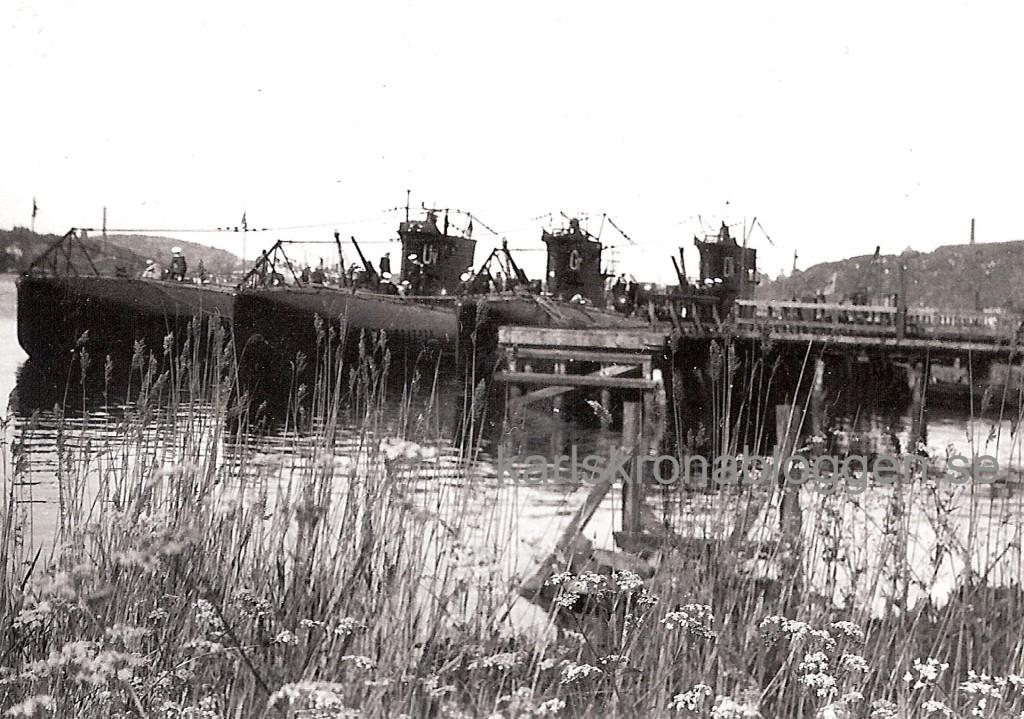 Ulven, Gripen och Draken någon gång i början av 1930-talet