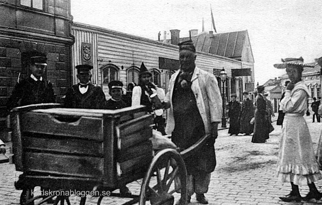 Barnens Dag 1906 på Borgmästaregatan