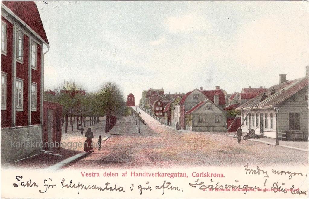 Västra Hantverkaregatan 1903