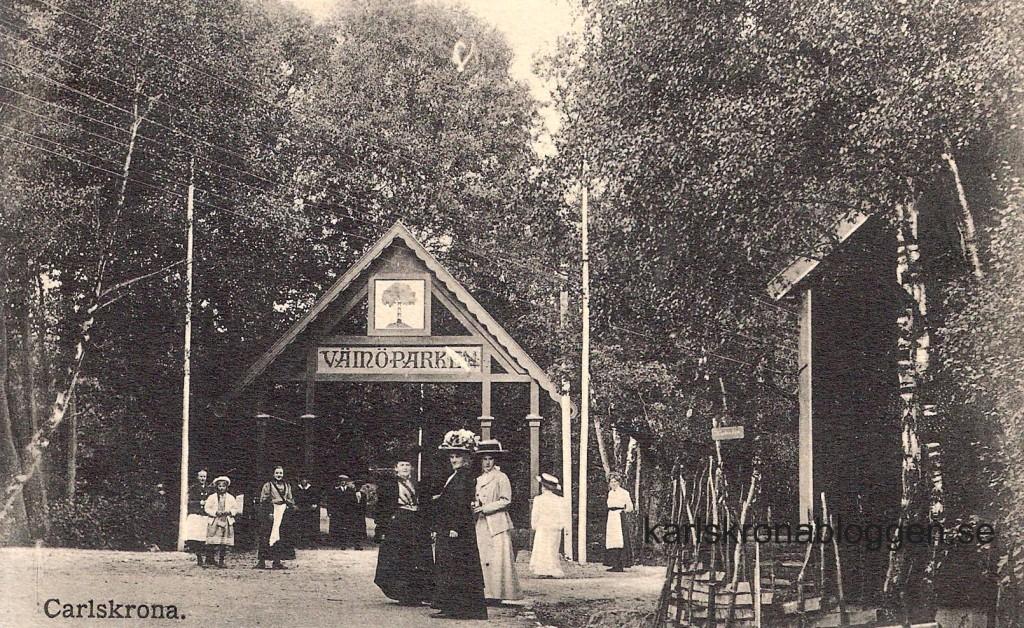 Lite kort historik kring Wämöparken